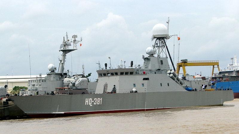 Tàu hộ tống chống ngầm HQ-381 lớp BPS-500 của Hải quân Quân đội nhân dân Việt Nam. Nguồn: Wikipedia, sử dụng trên cơ sở cho phép sáng tạo chung